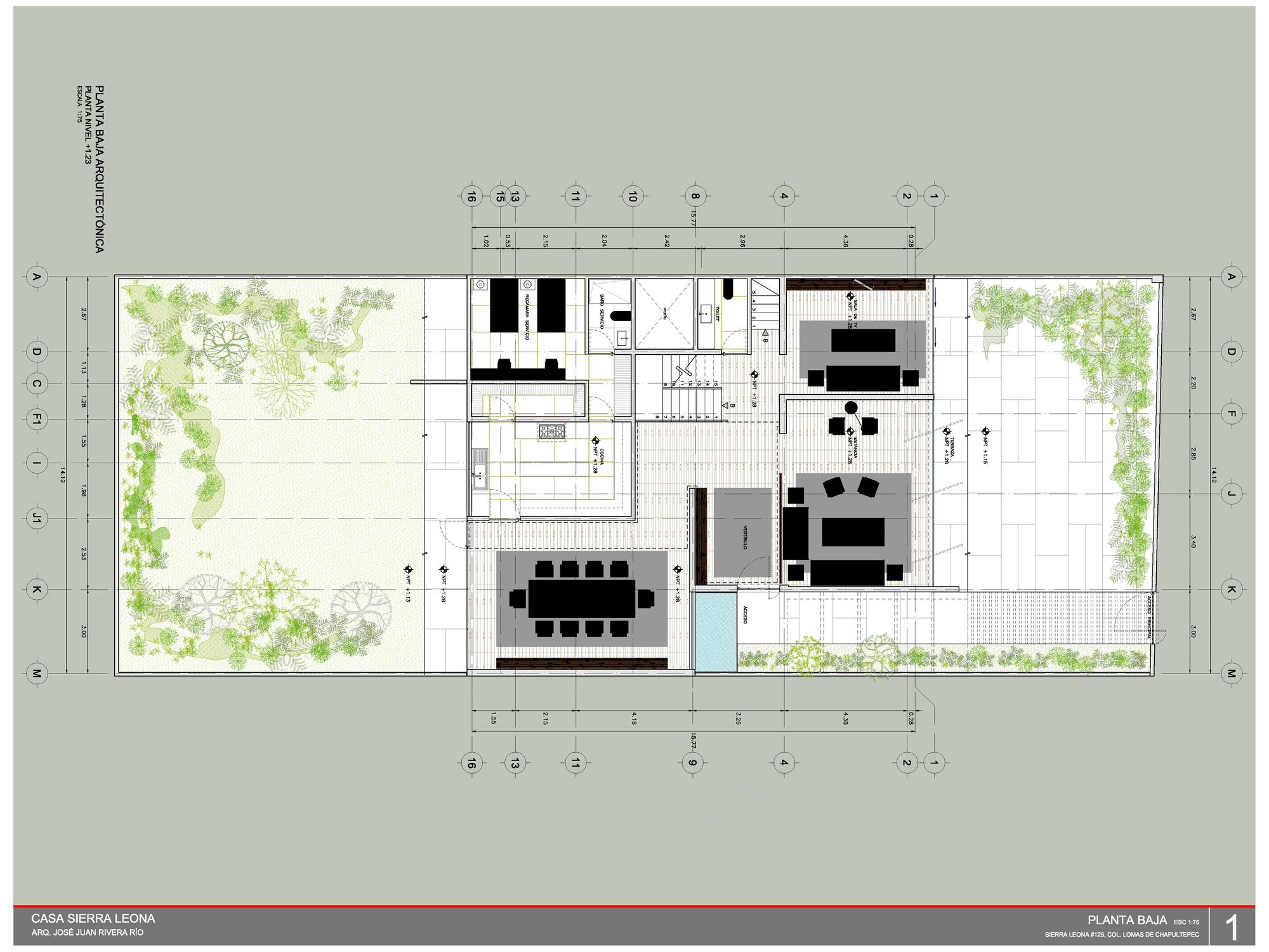 Dise o y planos de casa cuadrada contrucci n for Diseno de planos