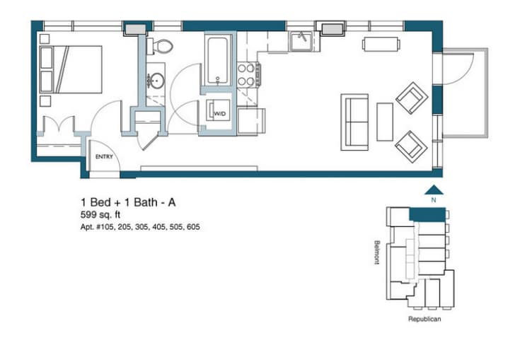 Dise o de planos departamentos peque os construye hogar for Planos departamentos pequenos modernos