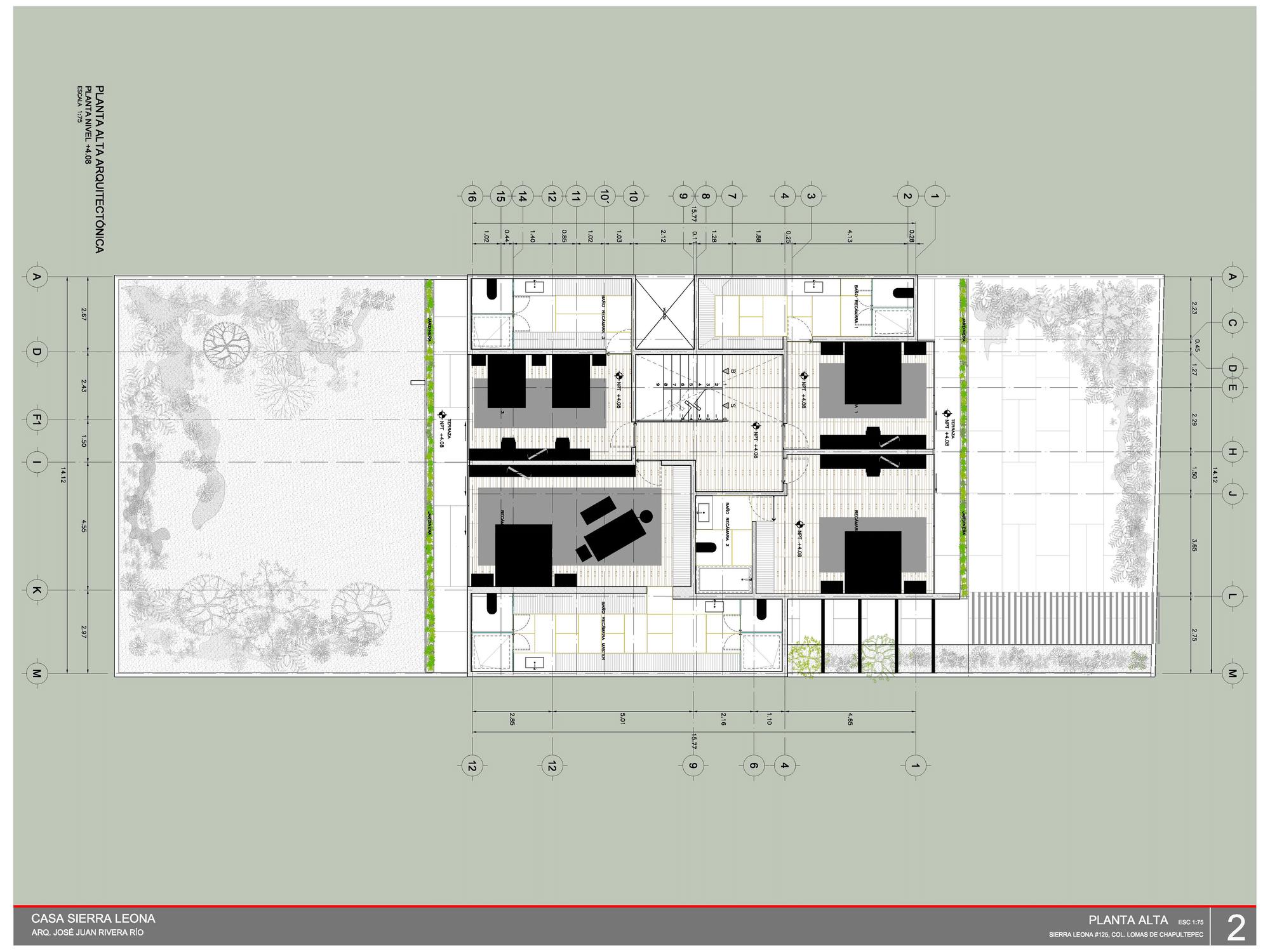 Dise o y planos de casa cuadrada contrucci n construye for Casas minimalistas planos arquitectonicos