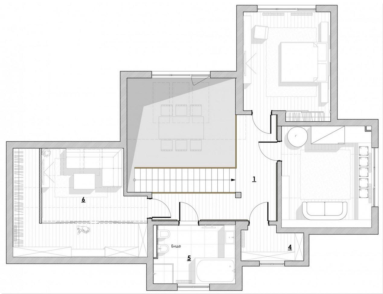Dise o casa moderna dos plantas y planos for Planos para casas de dos pisos modernas