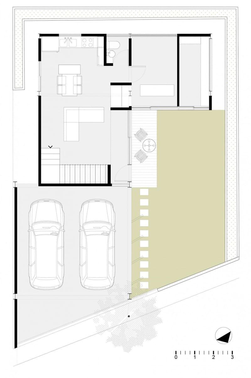 Planos de casa en forma de l dise o construye hogar for Casas en ele planos