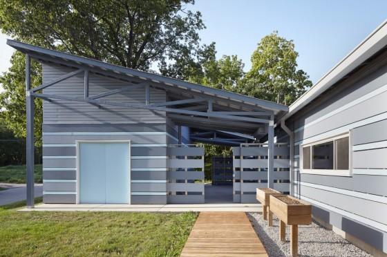 Detalles constructivos de casa sustentable