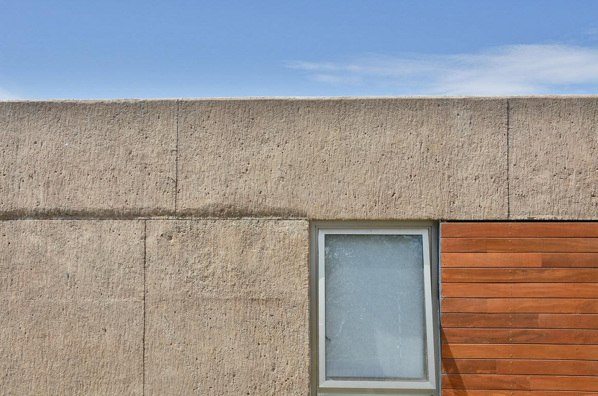 Dise o de casa cuadrada con planos y fachadas construye - Construir con bloques de hormigon ...