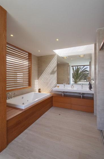 Diseño de cuarto de baño de casa de playa