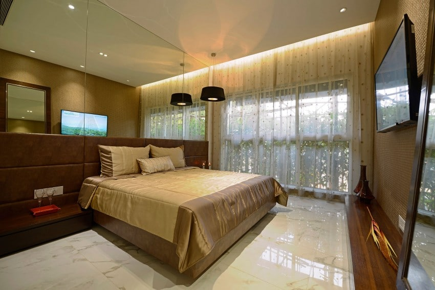Plano y dise o de interiores departamento construye hogar for Diseno de interiores clasico