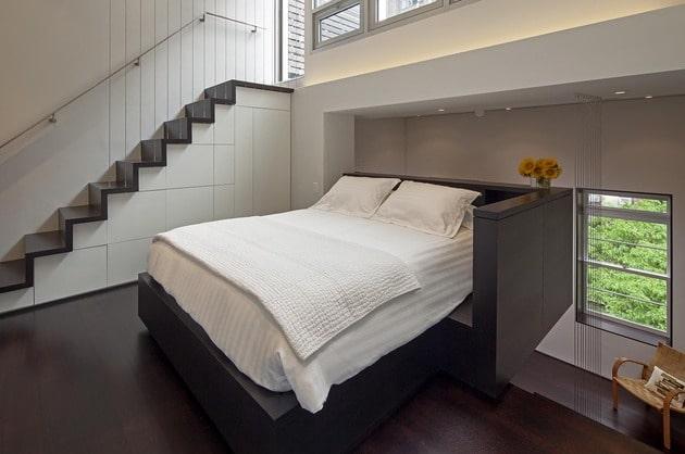 Dise o de mini departamento moderno construye hogar - Diseno de interiores dormitorios pequenos ...