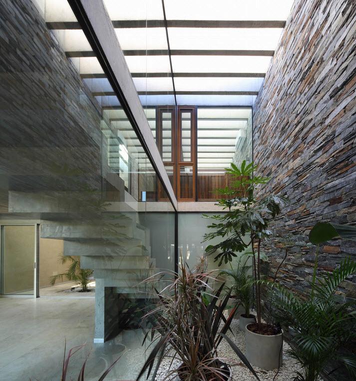 Planos de casa de dos pisos fachada segura construye hogar for Techos planos modernos