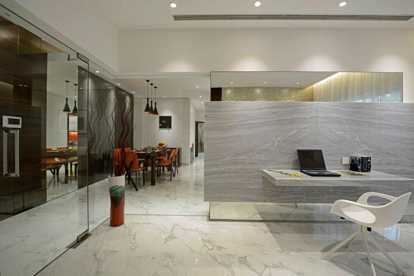 Plano y dise o de interiores departamento construye hogar for Apartamentos disenos modernos