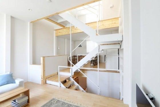 Diseño de interiores de casa pre-fabricada