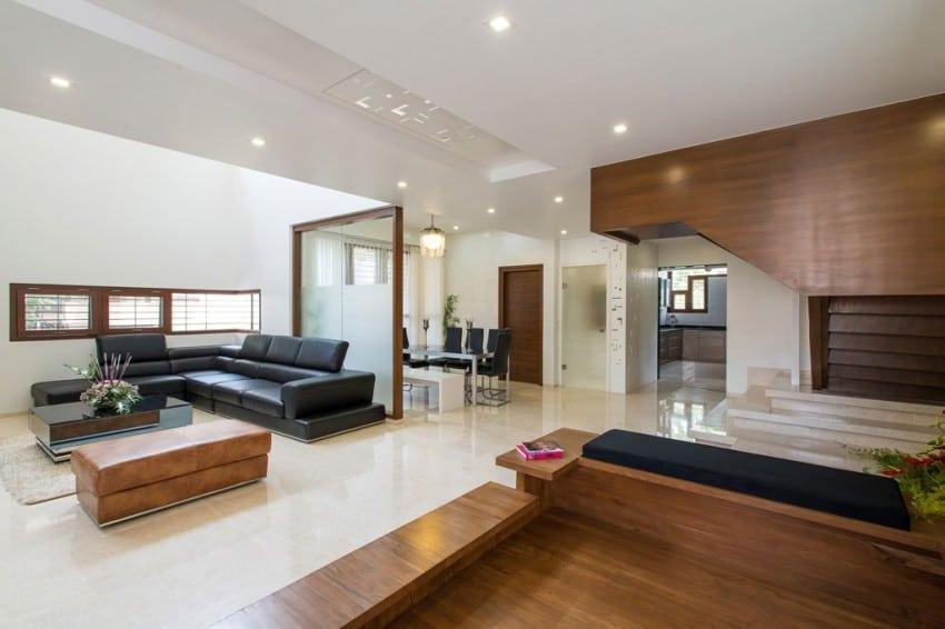 Dise o de planos de casa de tres pisos for Diseno de escaleras interiores minimalistas
