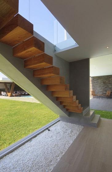 Diseño de modernas escaleras