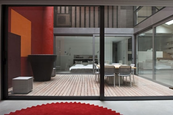 Diseño de terraza sencilla
