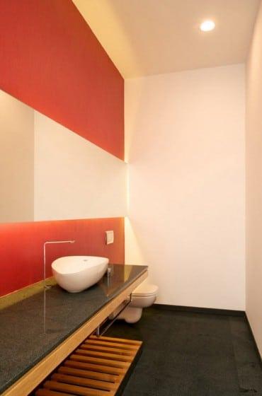 Diseño del moderno cuarto de baño