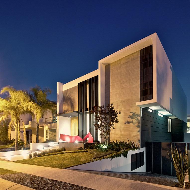 Dise o de planos de casa de dos plantas construye hogar for Plantas modernas para jardin