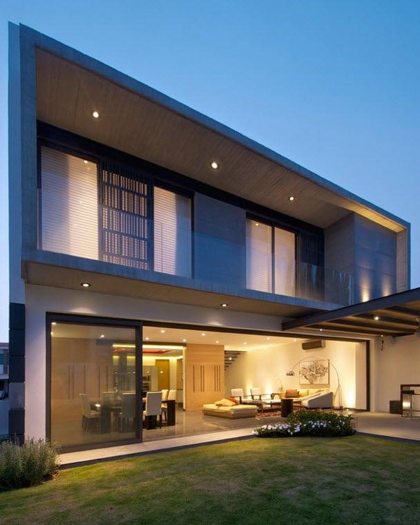Dise o de planos de casa de dos plantas for Fachadas de casas para segunda planta