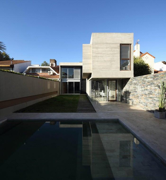 Planos de casa de dos pisos fachada segura for Casa de dos plantas construyehogar