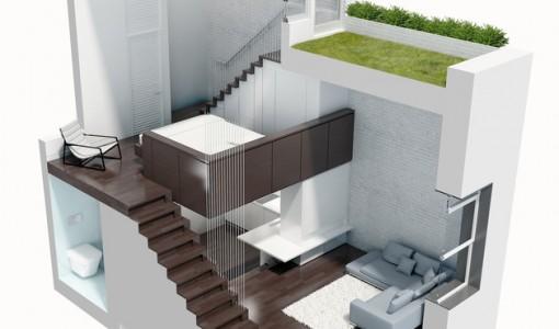 Casas minimalistas construye hogar for Mini casa minimalista