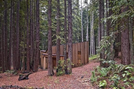 Modelo de casa de campo integrado al entorno