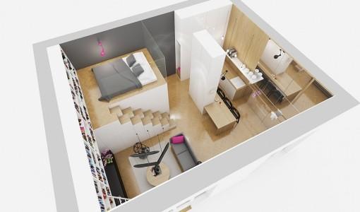 Planos de apartamentos construye hogar part 3 for Maquetas de apartamentos modernos