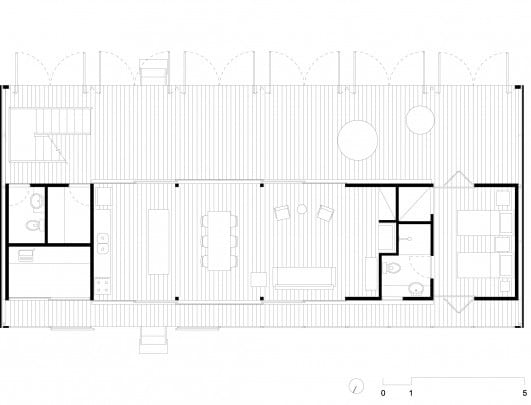 Planos de casa de campo moderna con fachadas construye hogar for Planos de casas de campo de una planta
