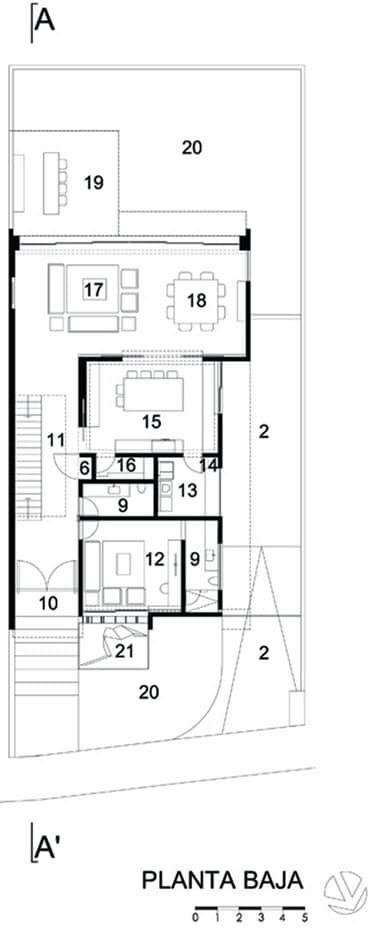 Casa planta baja moderna perfect casa moderna dos plantas - Casas planta baja modernas ...