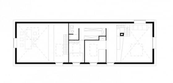 Planos de casa de campo mezzanine - entrepiso