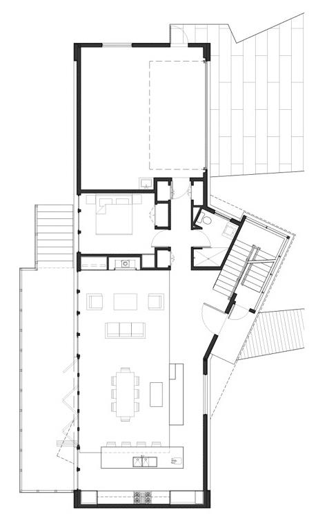 Planos de casa de dos pisos moderna fachadas construye hogar - Plano casa dos plantas ...