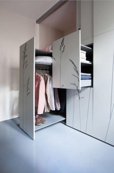 Armario para apartamento muy pequeño