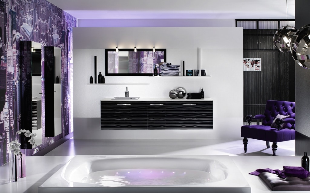 Decoraci n de cuartos de ba o construye hogar - Decoracion cuartos de bano modernos ...