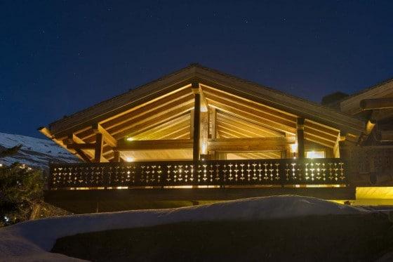 Diseño de casa de campo construida en madera