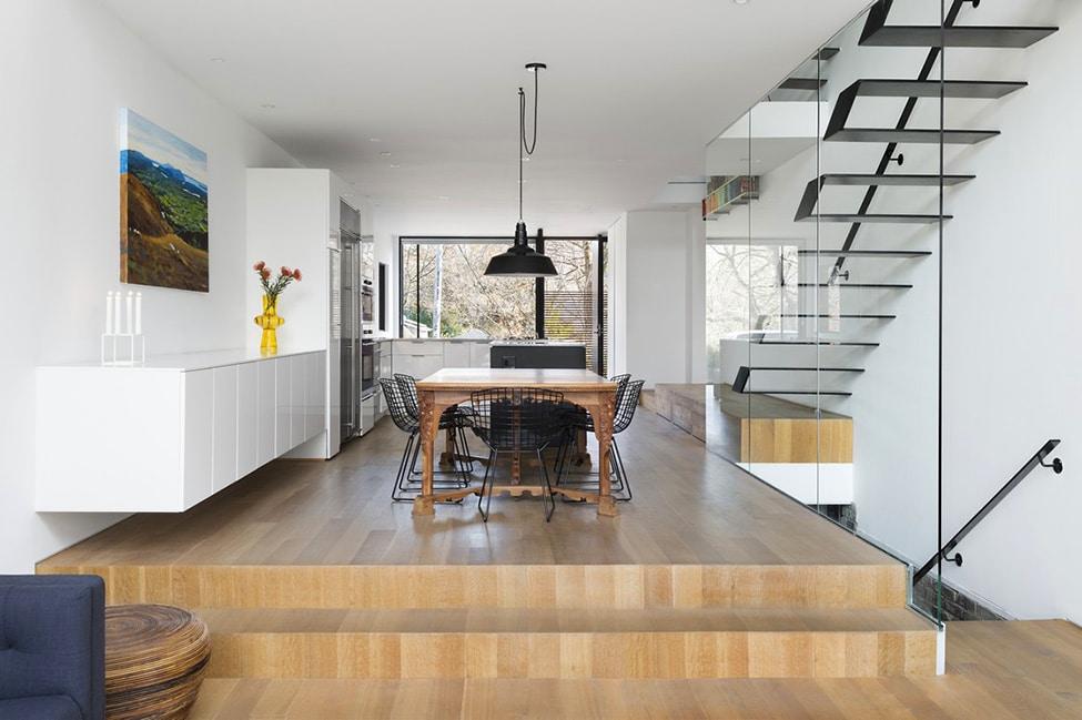 Planos de casa angosta y larga construye hogar for Comedor de cocina