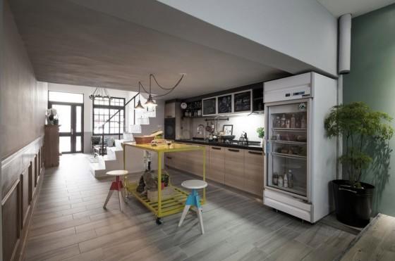 Diseño de cocina económica