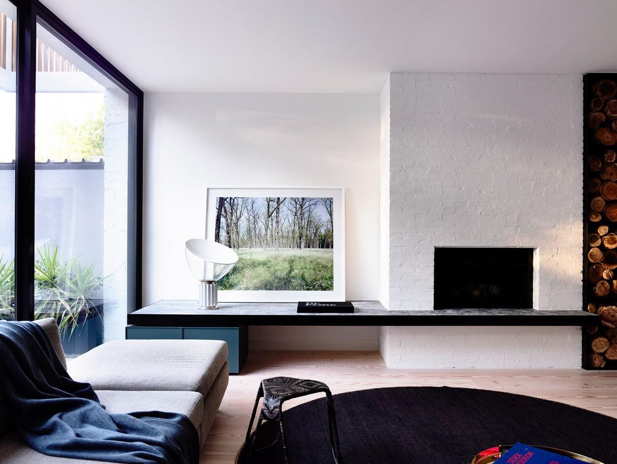 Dise o de casa de dos plantas peque a construye hogar for Disenos de interiores pintados