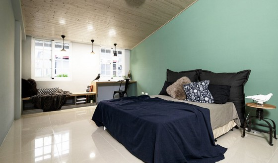 Diseo de dormitorios de casa angosta
