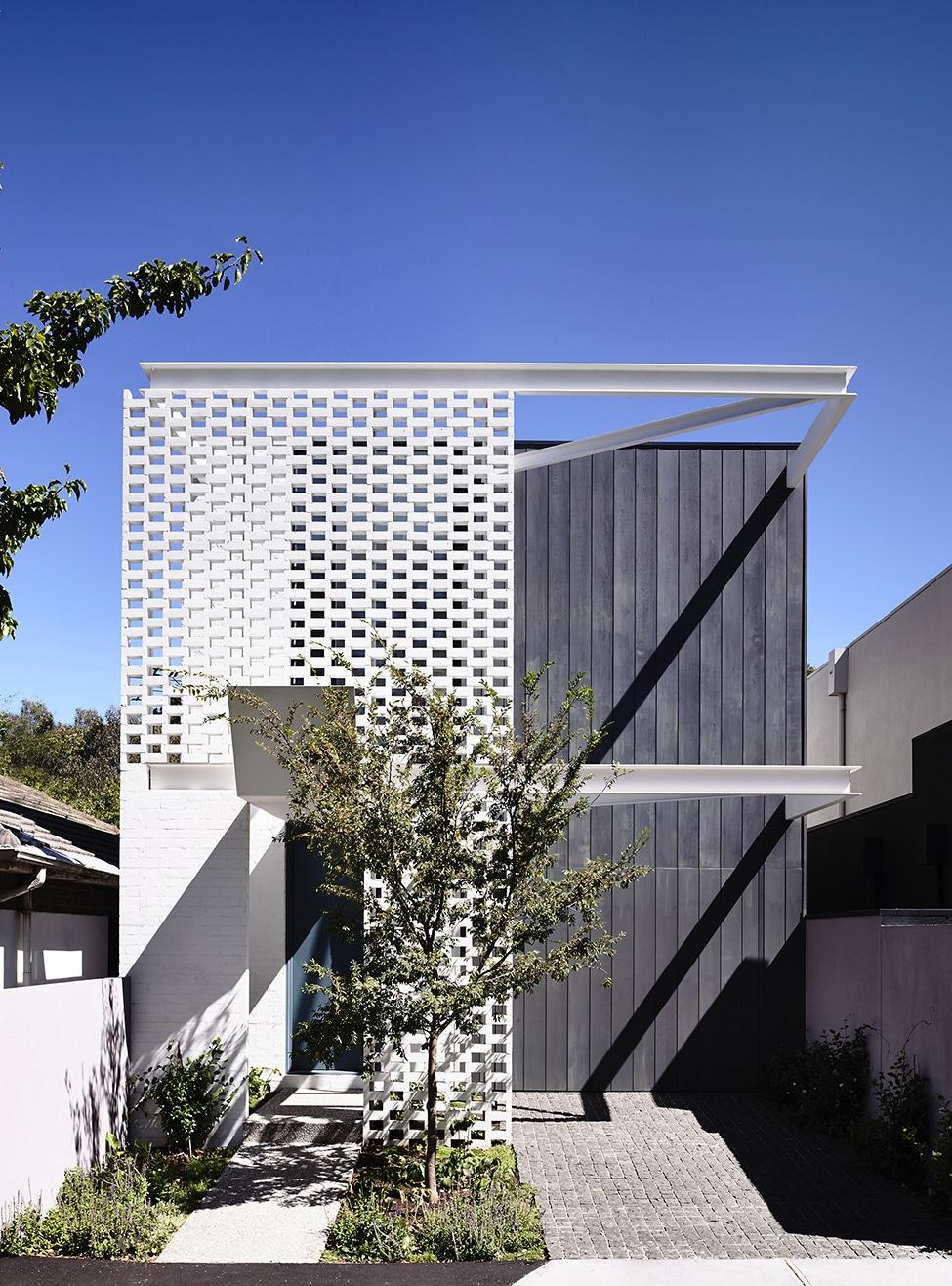 Dise o de casa de dos plantas peque a construye hogar for Diseno casa moderna dos plantas