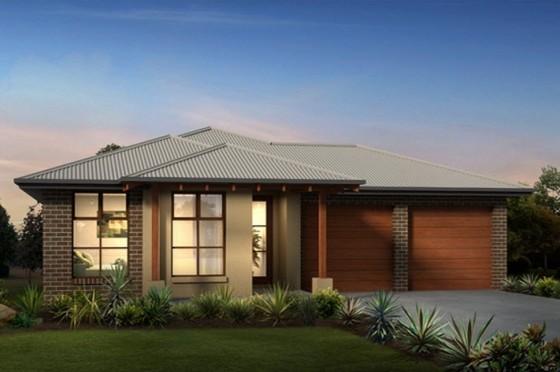 Planos de casas de un piso con ideas de hermosas fachadas for Fachada de casa moderna de un piso