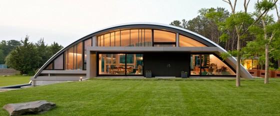 Dise 241 O De Casa Grande Moderna Forma Arco