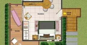 Planos de casas de campo y cabañas