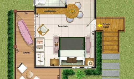 planos de casas rurales pequeñas