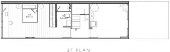 Planos de casa angosta 003