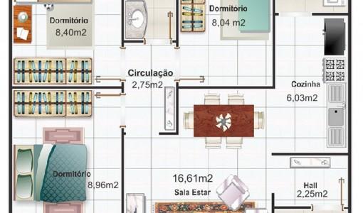 Planos De Casas Modernas Economicas