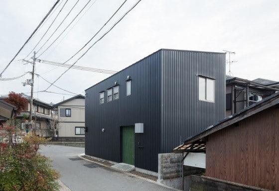 Diseño de casa de dos pisos muy pequeña