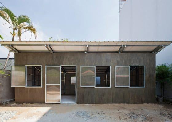 Diseño de casa de un piso económica