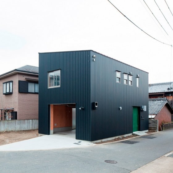 Diseño de casa muy pequeña de dos plantas