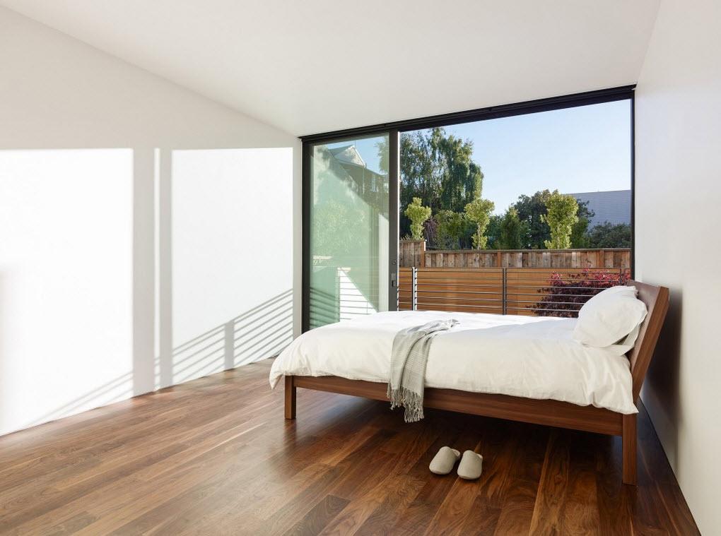 Planos de casa de tres pisos dise o moderno Pisos para dormitorios