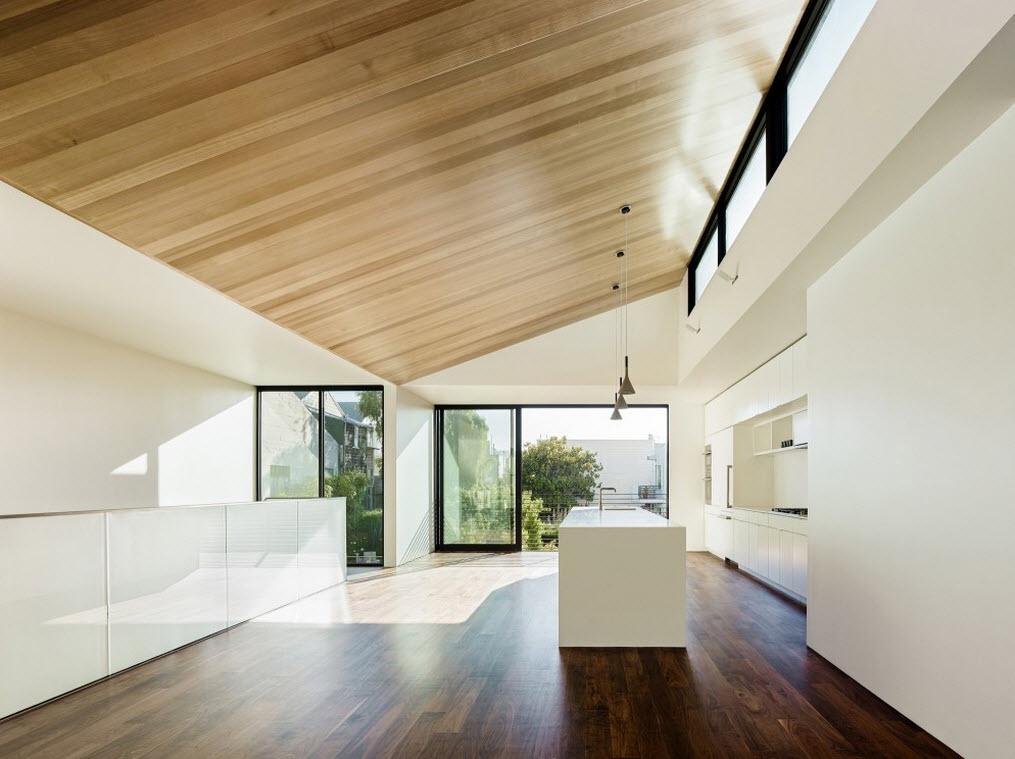 Planos de casa de tres pisos dise o moderno construye hogar for La casa tiene un techo