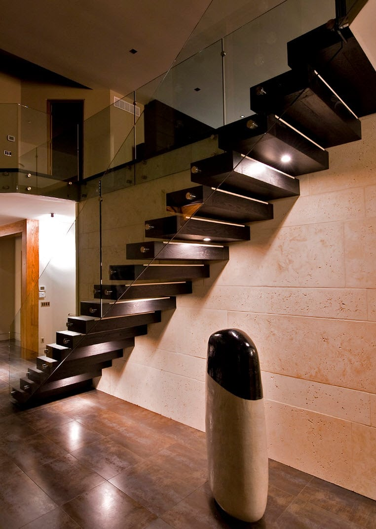Modelos de escaleras y barandas construye hogar - Barandas para escaleras de madera ...