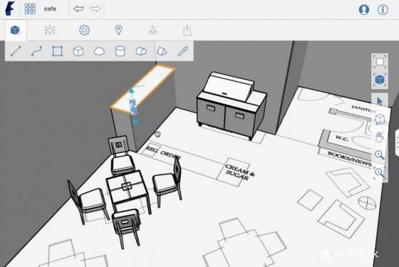 Aplicación para dibujar planos arquitectura