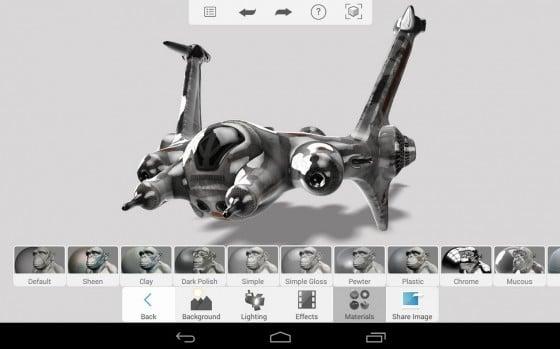 Aplicación para modelado orgánico esculturas