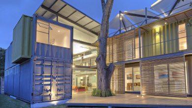 Photo of Planos y proceso constructivo de casa hecha con contenedores, descubre un hermoso proyecto de vivienda usando materiales reciclados y renovables
